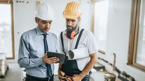 Samtale mellom byggherre og entreprenør