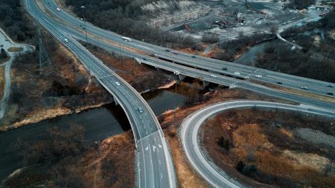 Bilde av motorvei.
