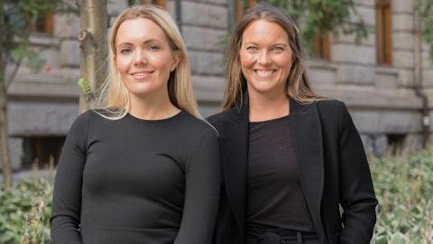 Tine Granlund og Hedda Aursnes